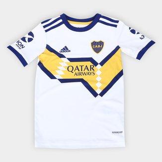 Camisa Boca Juniors Infantil Away 20/21 s/n° Torcedor Adidas