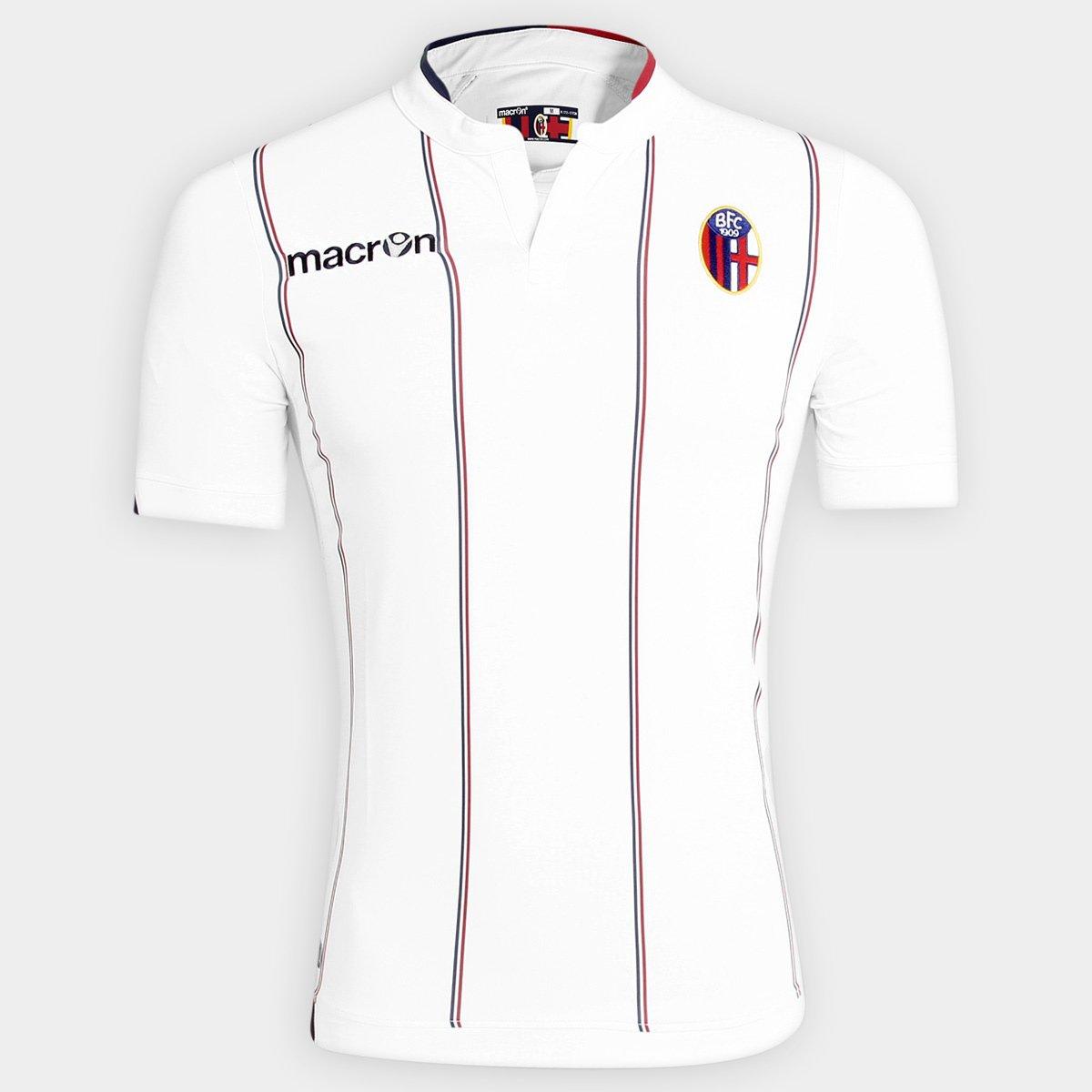 bd67153892 Camisa Bologna II 14 15 s nº - Torcedor Macron Masculina - Compre Agora