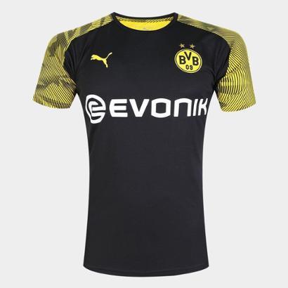Camisa Borussia Dortmund 19/20 Treino Puma