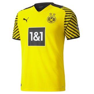 Camisa Borussia Dortmund Home 21/22 s/n° Torcedor Puma Masculina