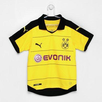 Camisa Borussia Dortmund Infantil Home s nº 2016 Torcedor Puma - Compre  Agora  c647f487e23fb