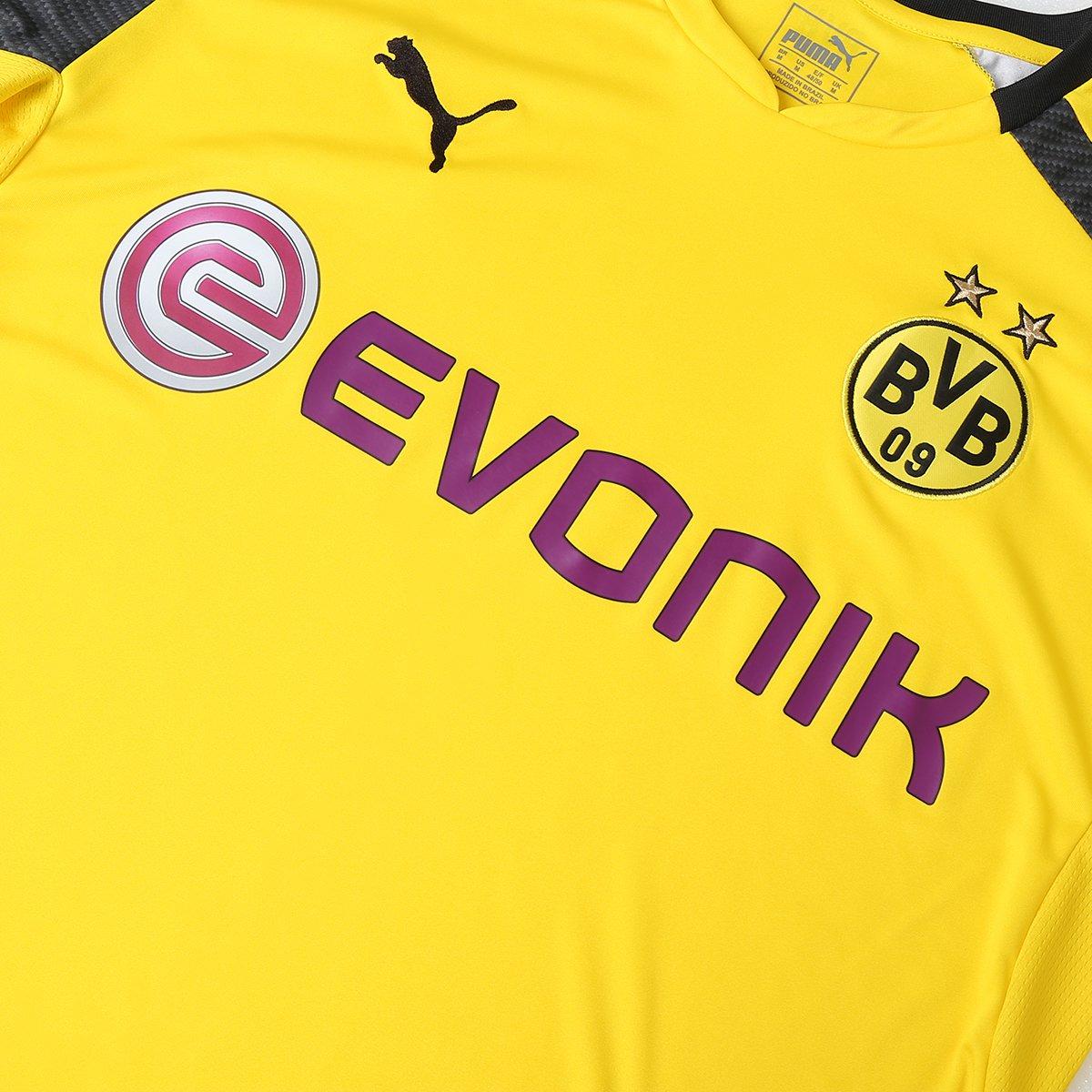 ... Camisa Borussia Dortmund Third 16 17 s nº Torcedor Puma Masculina ...  e91bd26acc58d8 ... ac8e894c78a5b