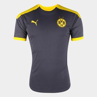 Camisa Borussia Dortmund Treino 20/21 Puma Masculina