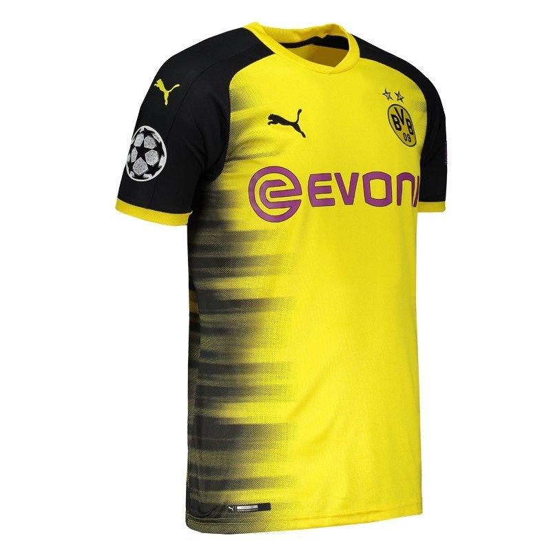 Camisa Borussia Dortmund UCL 2018 Puma - Compre Agora  0a30c4609a054