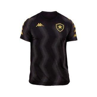 Camisa Botafogo 2021 Preta Kappa Treino Oficial S/N