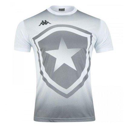 Camisa Botafogo 2021 Supporter BFR Branca Kappa Oficial