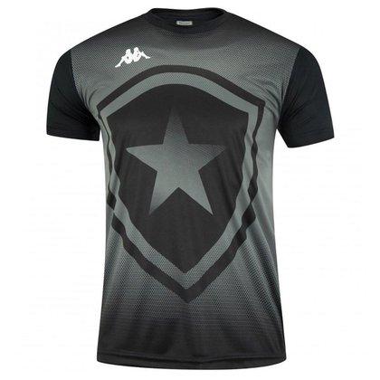 Camisa Botafogo 2021 Supporter BFR Preta Kappa Oficial
