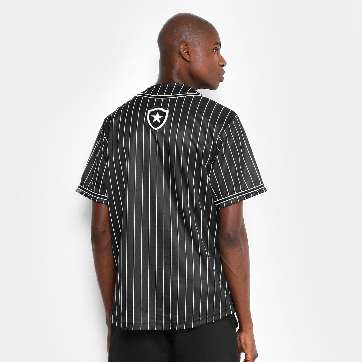 Camisa Botafogo Baseball Masculina  Camisa Botafogo Baseball Masculina ... 34b174b5bc42a