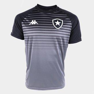 Camisa Botafogo Concentração Comissão Técnica 21/22 Kappa Feminina