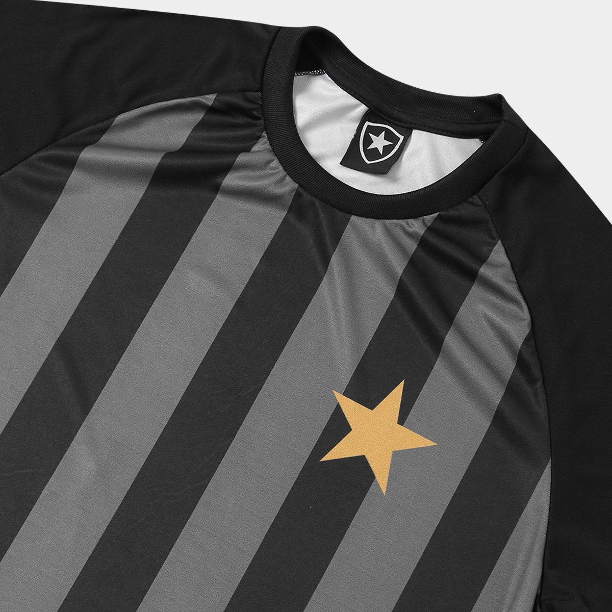 bab2cf9c6b Camisa Botafogo Estrela Gold nº 7 - Edição Limitada Masculina ...