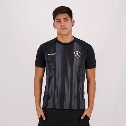 Camisa Botafogo Honda Braziline - Adulto Preto
