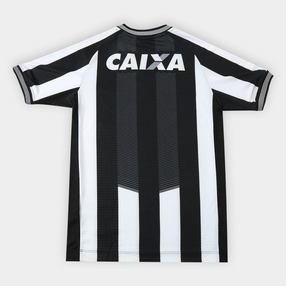 Camisa Botafogo I 2018 s n° Torcedor Topper Infantil - Preto e ... aa65d76ea845c