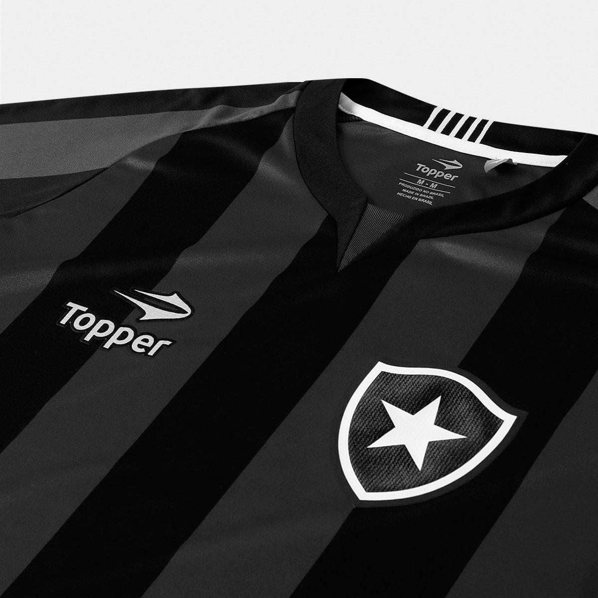 c472c5af44 Camisa Botafogo II 2016 s nº Torcedor Topper Masculina - Compre ...
