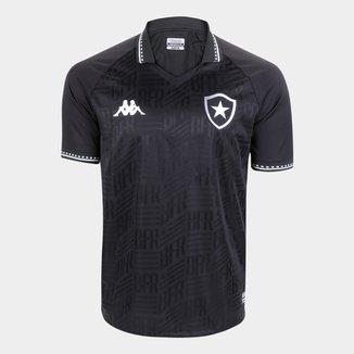 Camisa Botafogo II 21/22 s/n° Torcedor Kappa Masculina