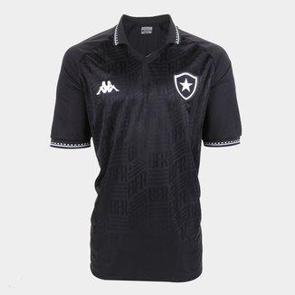 Camisa Botafogo II Plus Size 21/22 s/n° Torcedor Kappa Masculina