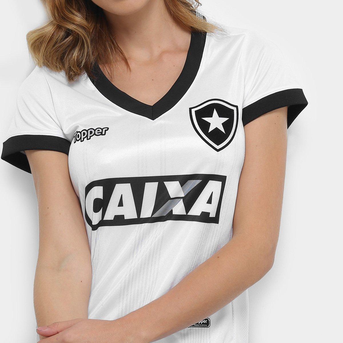 n° III Botafogo Camisa 2018 Topper s Branco Feminina Torcedor 4pwFf