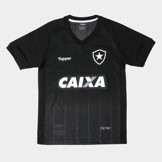 Camisa Botafogo Infantil II 2018 s/n° Torcedor Topper