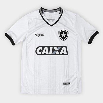 dccf17f376 A nova Camisa Botafogo Infantil III 2018 s n° Torcedor Topper chega para  reforçar