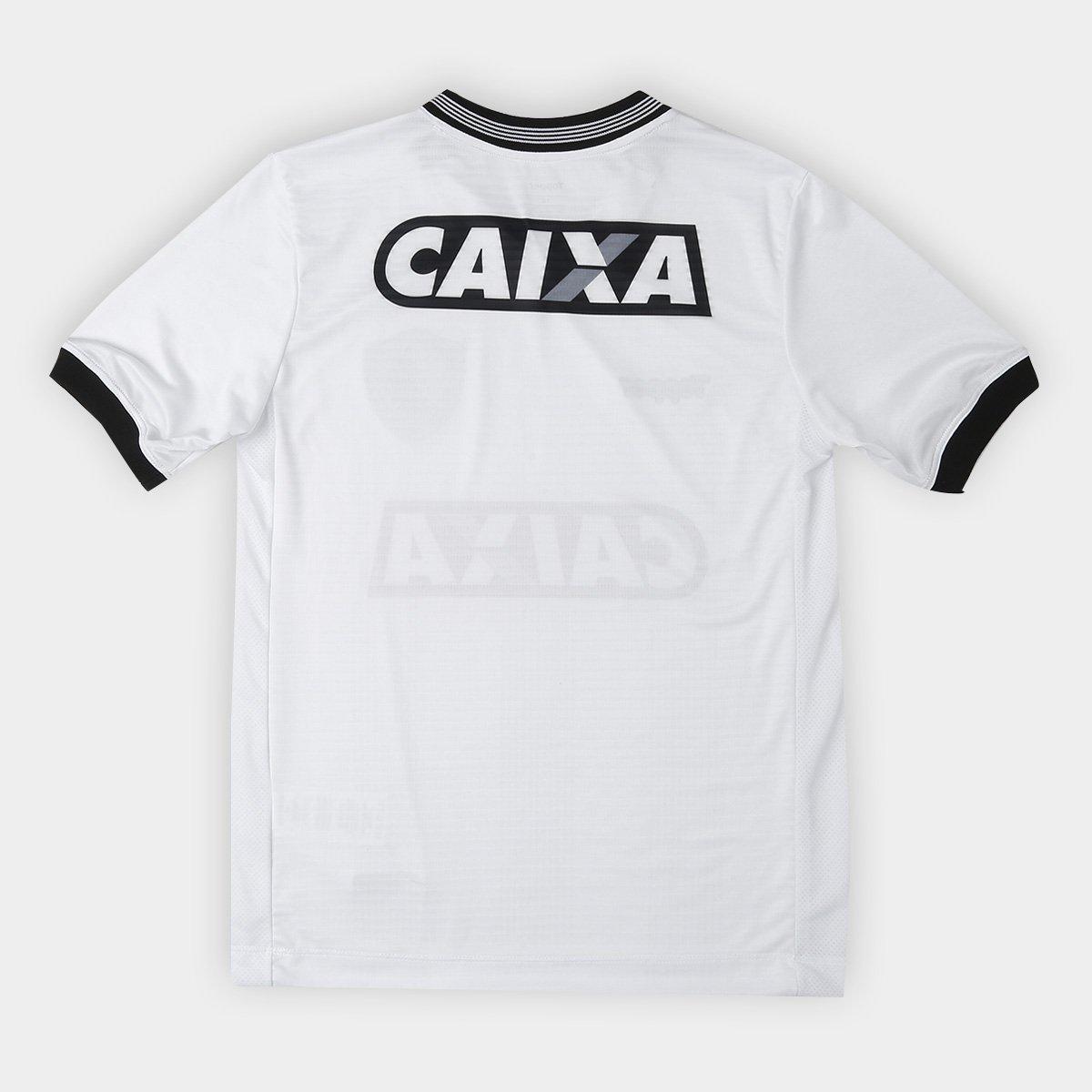 Camisa Botafogo Infantil III 2018 s n° Torcedor Topper - Branco ... 6dc01c26c0725