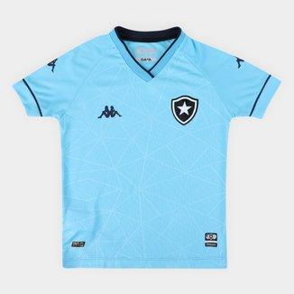 Camisa Botafogo Infantil IV 21/22 s/n° Torcedor Kappa