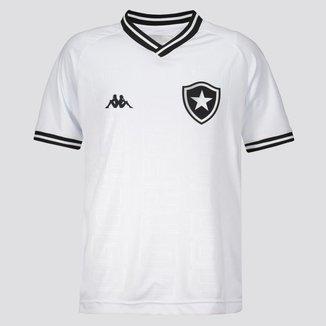 Camisa Botafogo Juvenil III 19/20 s/nº Torcedor Kappa