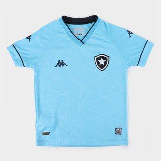Camisa Botafogo Juvenil IV 21/22 s/n° Torcedor Kappa