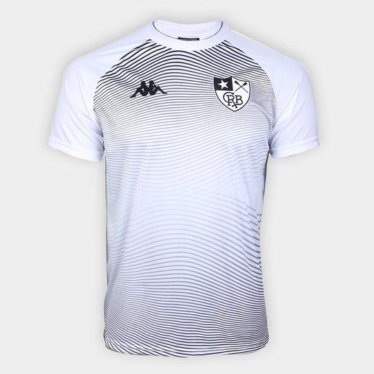 Camisa Botafogo Waves Supporter Kappa Masculina - Branco