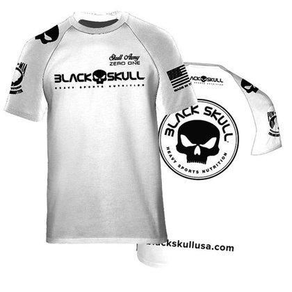 Camisa Branca Academia Dry Fit - Esportiva Treino Fitness