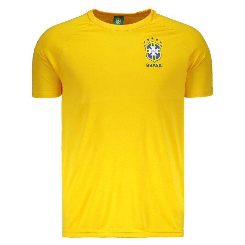 393a9e938 Camisa Brasil CBF Basic Masculina - Compre Agora