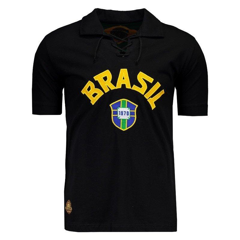 5b8693c37 Camisa brasil goleiro retrô masculina preto compre agora jpg 544x544 Retro  camisetas de goleiro