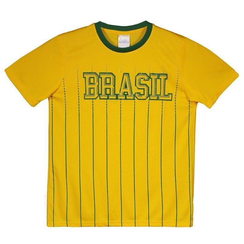 1f2f74d8d1 Camisa Brasil Xingu Infantil - Amarelo - Compre Agora