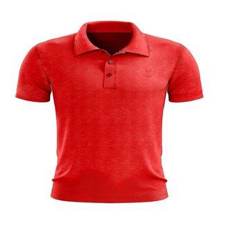 Camisa Braziline Polo Supply Flamengo - Vermelho