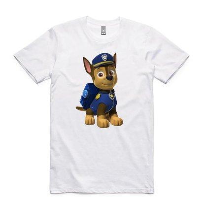 Camisa Camiseta Infantil Patrulha Canina