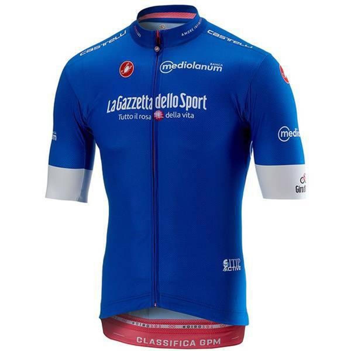 fc1c2da1d312f Camisa Castelli Giro D Itália Squadra - Azul - Compre Agora