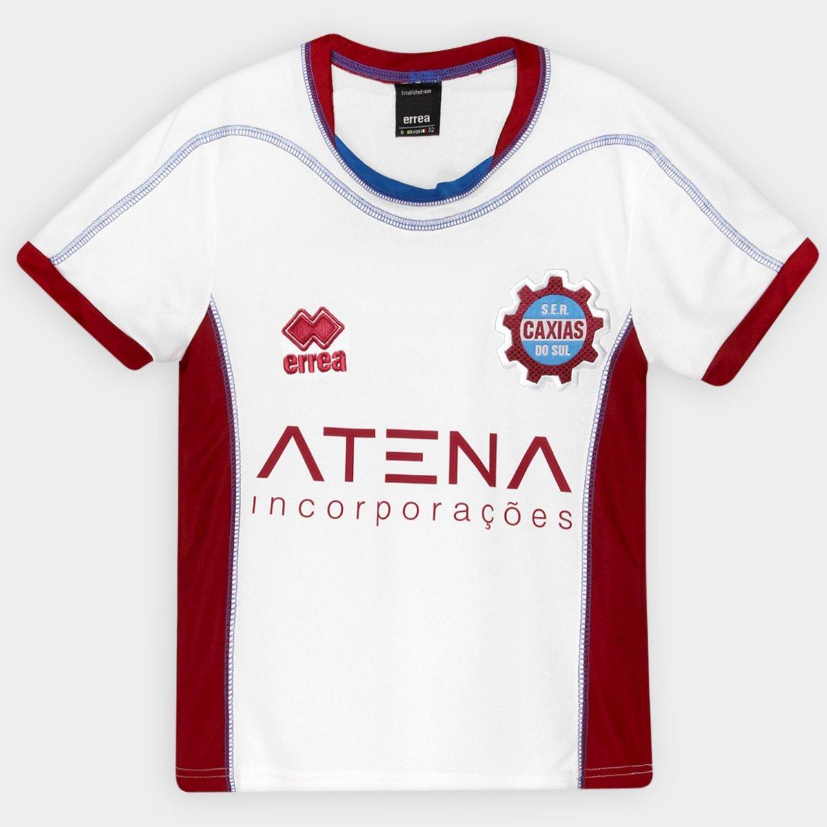 Camisa Caxias Infantil II 14 15 s nº Torcedor Errea - Compre Agora ... 3dd42a32c6e5c