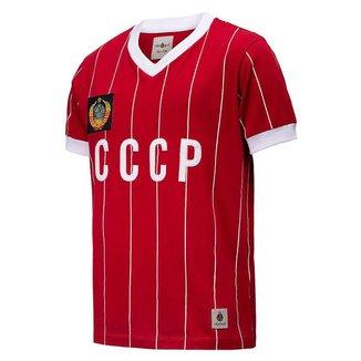 Camisa CCCP Retrô 1982 União Soviética Masculina