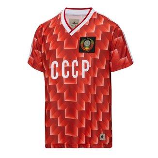 Camisa CCCP Retrô 1988 União Soviética Masculina