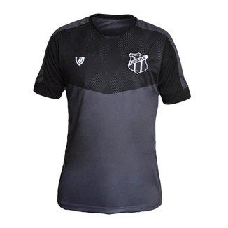 Camisa Ceará 2021 Vozão Oficial Torcedor Cinza