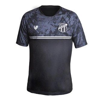 Camisa Ceará 2021 Vozão Oficial Torcedor Preta