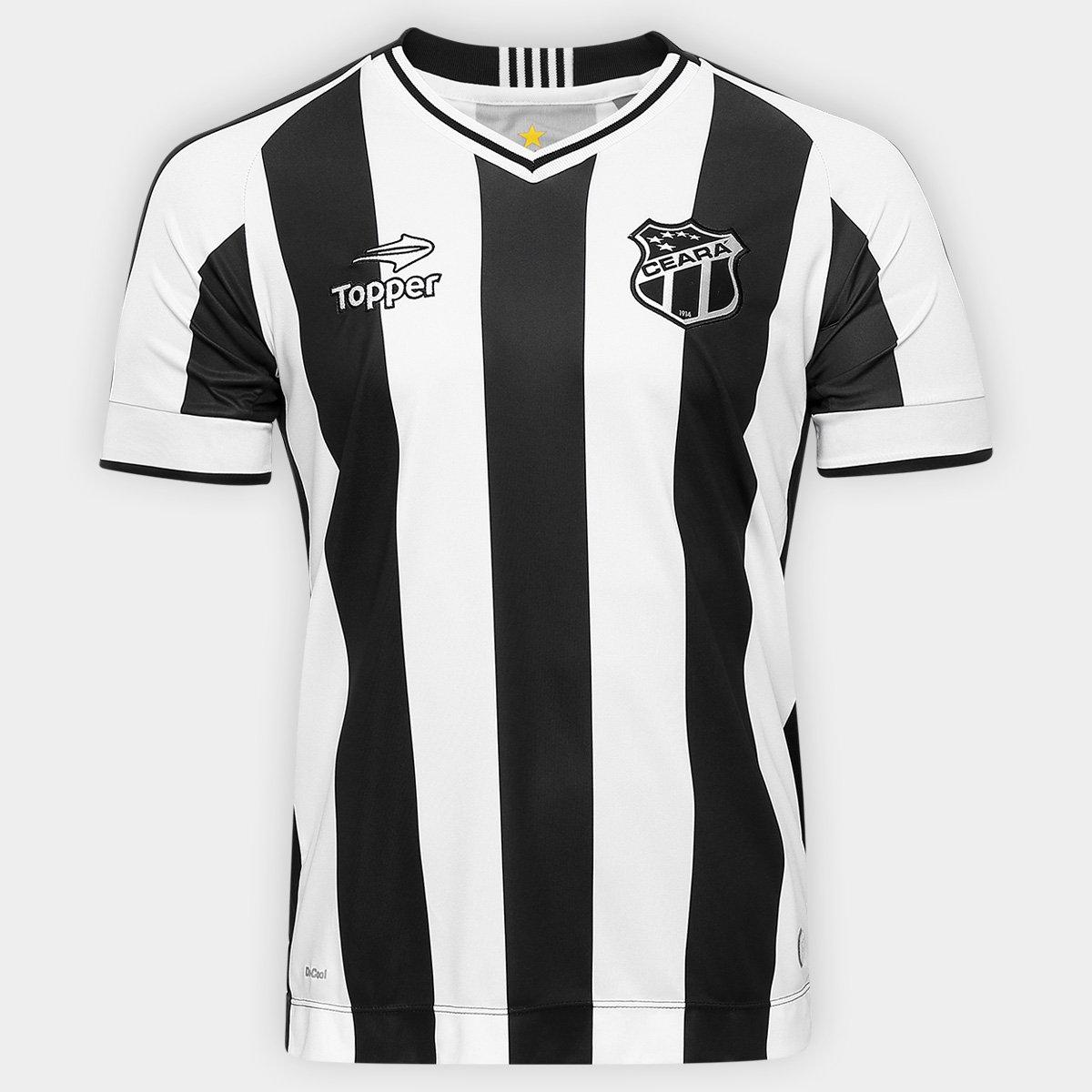 Camisa Ceará I 2016 nº 10 Torcedor Topper Masculina - Compre Agora ... 89c5a6c7b1c9f
