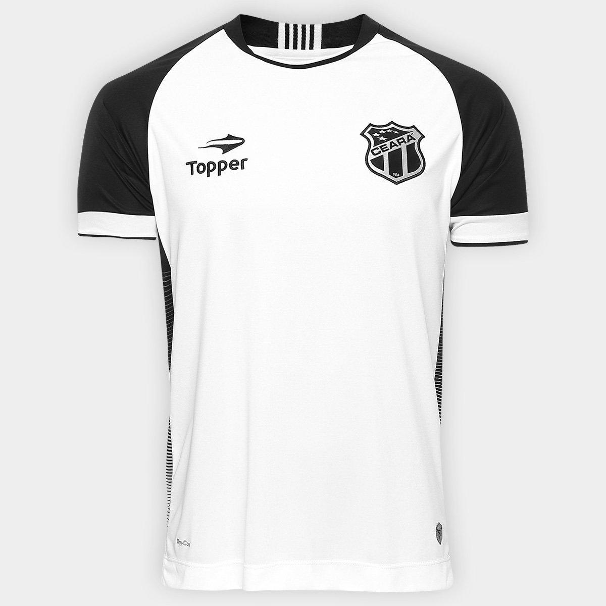 0a82f99a8a Camisa Ceará II 2016 nº 10 Torcedor Topper Masculina - Compre Agora ...