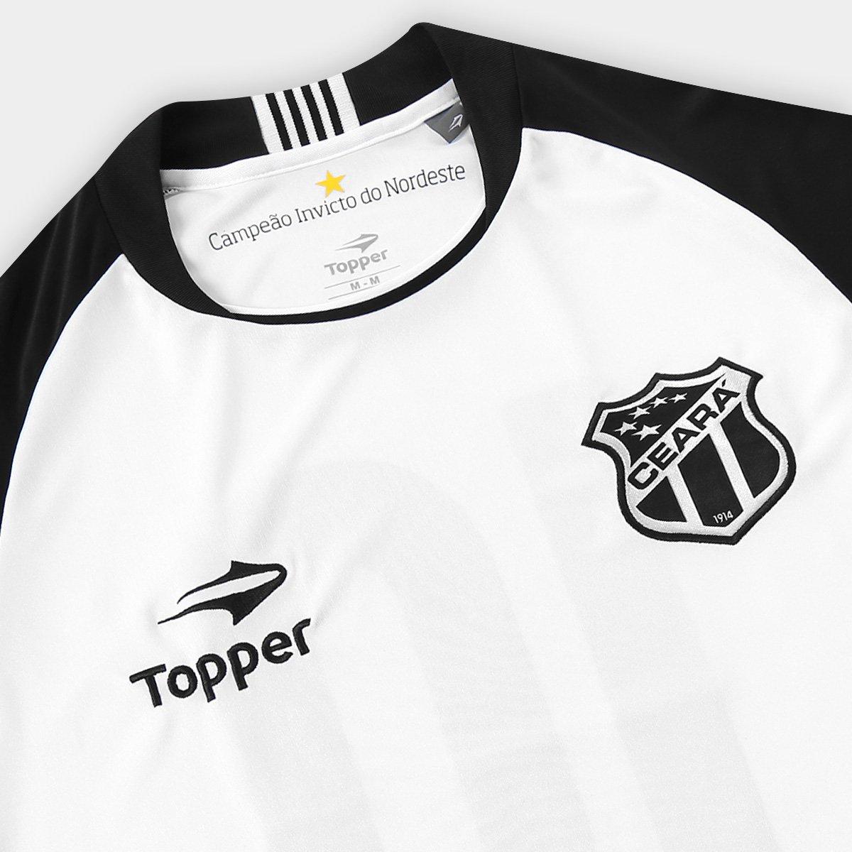 Camisa Ceará II 2016 nº 10 Torcedor Topper Masculina - Compre Agora ... 832d3ae9312b3