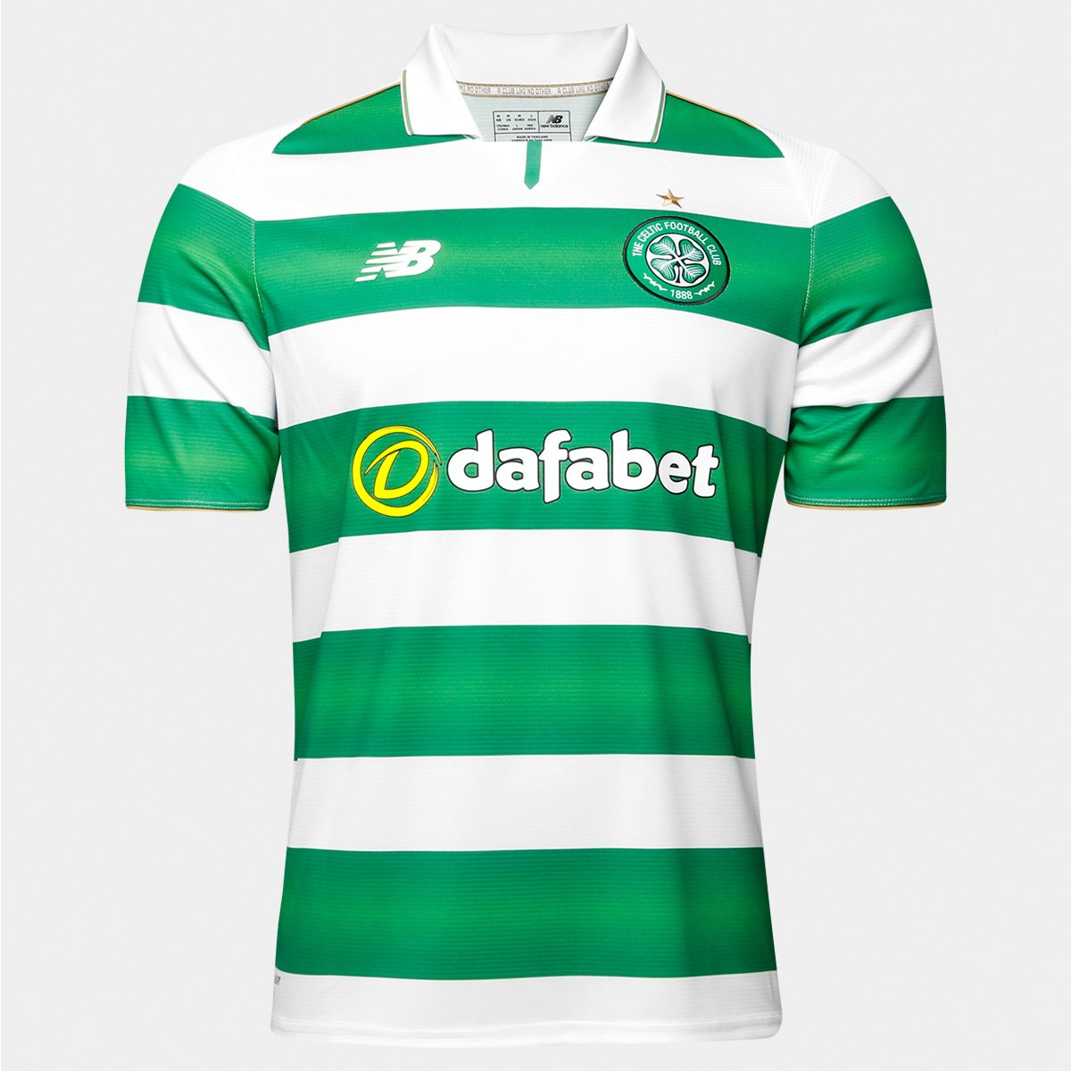 Camisa Celtic Home 16 17 s nº - Torcedor New Balance Masculina - Compre  Agora  203aa58783e83