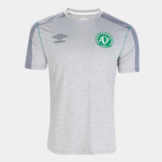 Camisa Chapecoense Aquecimento 19/20 Umbro Masculina - Verde