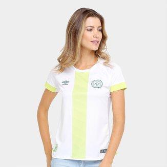 Camisa Chapecoense II 17/18 s/nº - Torcedor Umbro Feminina