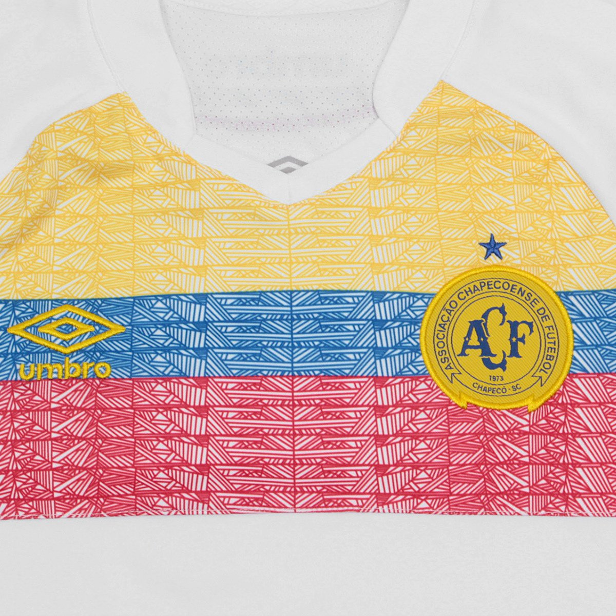 Chapecoense Umbro e Camisa 2018 Azul La Branco II n° s Pasion Infantil Torcedor 4zdqz1