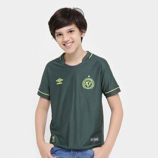 Camisa Chapecoense Infantil Libertadores s/nº Torcedor Umbro