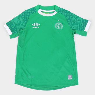 Camisa Chapecoense Juvenil I 21/22 s/n° Torcedor Umbro