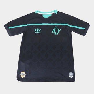 Camisa Chapecoense Juvenil III 20/21 s/n° Torcedor Umbro