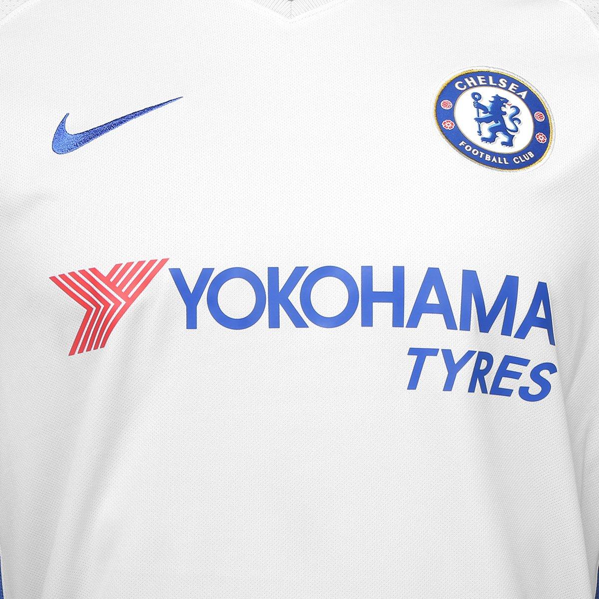 Camisa Chelsea Away 17 18 s n° - Torcedor Nike Masculina - Compre ... a7da7457b31ad